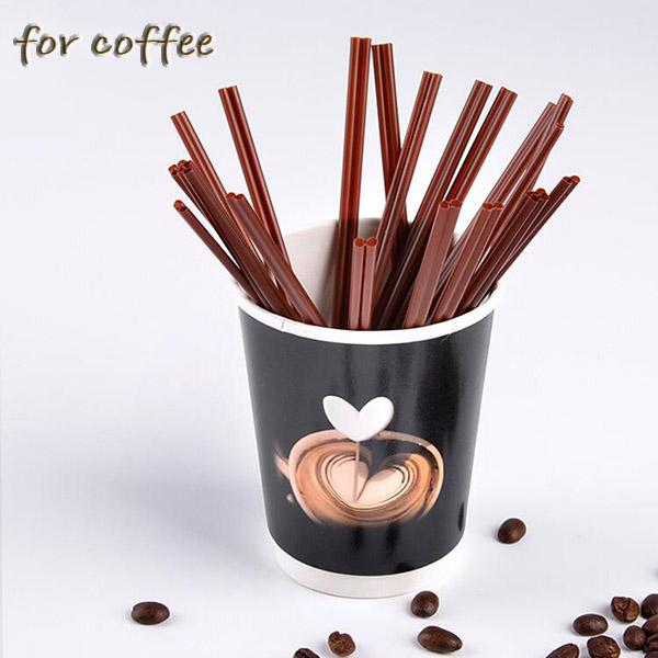 Wholesale Coffee Stir Stick Straw with Two Hole