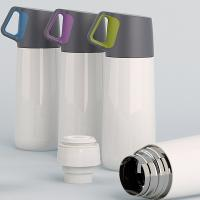 Wholesale Double Wall Thermos Mug with Cup Cap