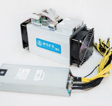 WhatsMiner M3 11.5 Th/s ASIC Bitcoin Miner