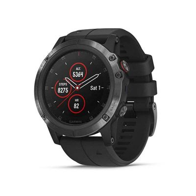 Garmin Fenix 5X Plus Sports Smartwatch 51mm Sapphire Heart Rate Monitor