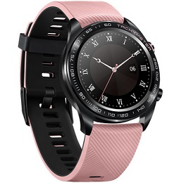 Huawei Honor Dream Smart Watch 1.2 Inch AMOLED Color Screen Built-in GPS NFC Payment Heart Rate Monitor 5ATM Waterproof - Pink