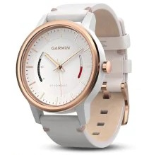 Garmin vivomove Smartwatch Bluetooth 4.0 5 ATM Waterproof  - White Classical Style