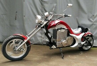 Killer High speed 3000W 72V electric chopper motorcycle