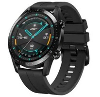 HUAWEI WATCH GT 2 Bluetooth 5.1 46mm GPS Smartwatch Underwater Heart Rate Monitor 1.39 inch AOLED Display 14 Days Battery Life Sports Version - Black