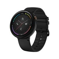 AMAZFIT Nexo Smart Sports Watch 4G LTE 1.39 Inch AMOLED 2.5D Glass Screen IP68 Water Resistant GPS Ceramic Bezel - Black