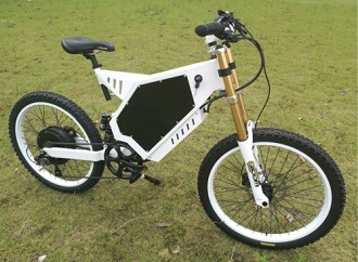 Troya Electric Bicycle Scooter 3000W 48V Ebike Mountain Bike 65km/h