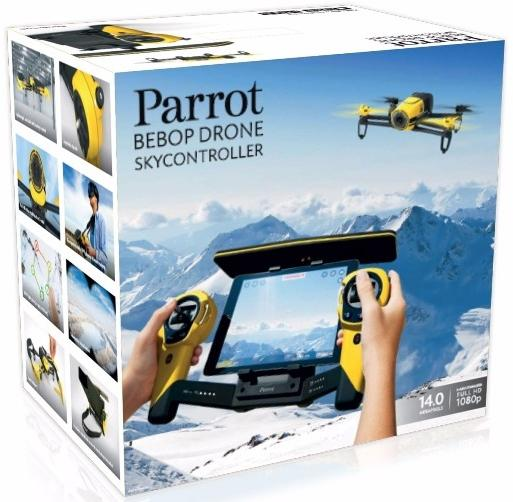 Parrot Bebop Drone RC Radio Controll Hericopter Quadcopter 14.0MP Camera Yellow