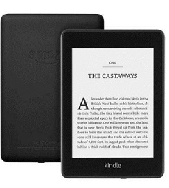 Kindle Paperwhite Waterproof 6 Inch High-Resolution 32 GB Wi-Fi, Black