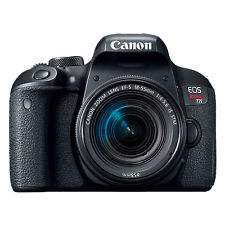 Canon EOS Rebel T7i DSLR Camera with 18-55mm Lens Touch Screen! WiFi / NFC - Bluetooth Connectivity