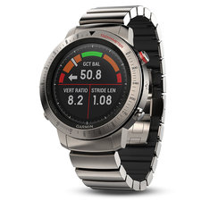 Garmin Fenix Chronos Smart Sports Watch GPS Titanium with Brushed Titanium Hybrid Watch Band