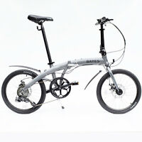 Bayes Tyre 20 Inch Aluminium Disc Brakes 8 Speed Shimano Folding Bike