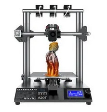 Geeetech A20T Mix-Color 3D Printer with 250*250*250mm Printing area/Triple Extruder/3 in 1 Nozzle/Filament Detector/Power Resume/Open Source Mainboard/Support Wifi Connection and Auto Leveling