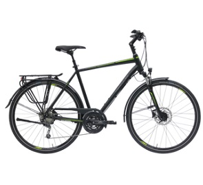 Hercules Tessano Comp Trekking bike 2020 diamond 28 inch black matt 46 cm