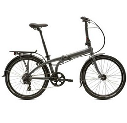 Tern Unisex Bicycle node C8 Tyre Folding 8 Speed 24 inch Grey Chains Circuit
