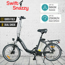 Monsterpro Folding Electric Bicycle 20in 250W Mini Foldable City Ride Ebike