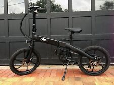 ENZO OZNE 7-Speed Folding Ebike Electric Assist & Throttle Bicycle Bike