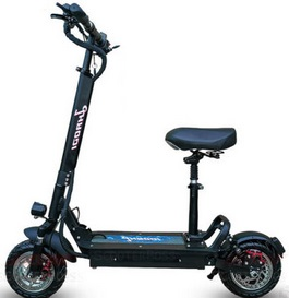Haodi Commuter Ultimate Electric Scooter 2020 1000W Hydraulic Disk brake With SEAT